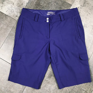 Nike Golf Tour Performance Purple Cargo shorts